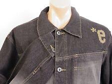 Ecko Unltd Denim Foundry Jacket Knit E Gritty Mens size XL Excellent Condition