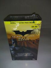 2005 Topps Batman Begins Movie Cards Blaster Box Trading Cards Factory Sealed
