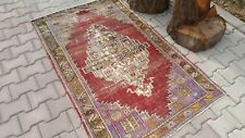 Oushak Rug 3'3x5'4 feet,Area Rug, Turkish Rug,Area Rug,Small Rug, Rugs Hand Made