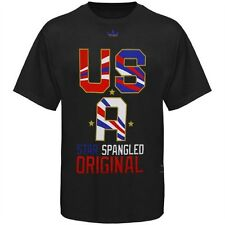 ADIDAS USA STAR SPANGLED Soccer T SHIRT BLACK COUNTRY SMALL SM S TEAM NEW NWT