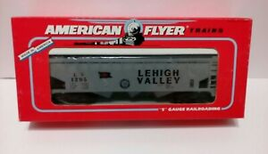 American Flyer (6-48494) S Scale N.A.S.G LEHIGH VALLEY COVERED HOPPER , LN/N box