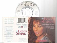 "DONNA SUMMER i don't wanna get hurt CD SINGLE 8cm 3""inch"