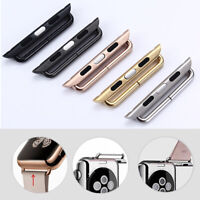 2pcs Wristwatch Strap Watch Band Adapter Connection Suit for Apple Watch iWatch