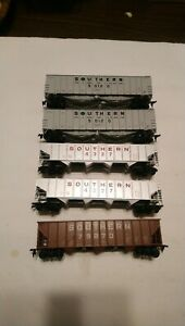Walthers etc HO Train Southern Railway Lot 5 Rolling Stock 50' Hopper Cars RTR
