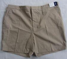 NWT Vanderbilt Men's Polyester Blend Khaki Chino Shorts - Tag 44/Measured 42