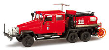 "Ifa G5 TLF ""pompieri Torgelow"" Scala H0 1 87 Herpa 090384 Modellino Auto"