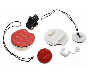 Surf Board Surfing Mount with Tether Locking FCS Plug GoPro Compatible