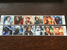 STAR WARS™ Mint Stamps Set (12) - Released 20 October 2015