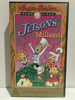 THE JETSONS ~ MILLIONS ~ HANNA BARBERA ~ RARE VHS VIDEO