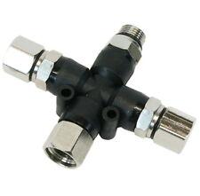 """BD-13 Airbrush Luftverteiler 3-fach 1/8"""" Druckluftverteiler Kompressor Pistole"""