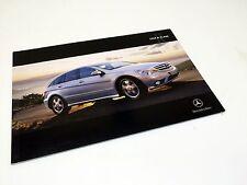 2008 Mercedes-Benz R-Class W164 Brochure