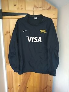 """ARGENTINA PUMAS RUGBY UNION TRAINING TOP BY NIKE SIZE XL 46/48"""""""