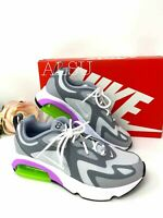 Sneakers Women's Nike Air Max 200 Cool Grey Canvas Casual AT6175 002