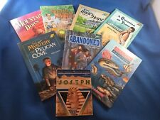 HUGE LOT OF 8 QUALITY CHRISTIAN READERS! 6 from BOB JONES UNIV PRESS + TWO MORE!