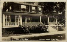 Kennebunkport ME The Arundel c1920s Real Photo Postcard