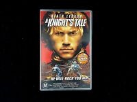 A Knights Tale - Heath Ledger - VHS Tape - Free Shipping in Australia