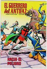 EL GUERRERO DEL ANTIFAZ (Reedición color) nº:  93.  Valenciana, 1972-1978.