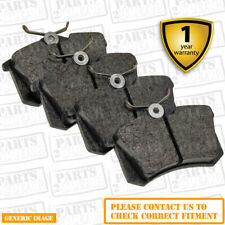 Rear Brake Pads Renault Megane 1.4 TCE Coupe MK III 08-13 P 131HP 86.98x53mm