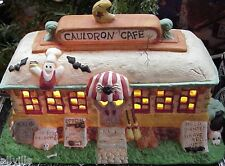 Cauldron Cafe Creepy Hollow By Midwest Importers Lighted Halloween House