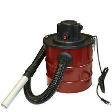 Arebos Aschesauger Kaminsauger mit Motor 1200W HEPA Filter für Kamin Rot