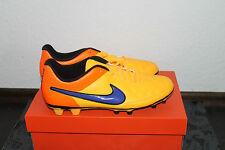 Nike Tiempo Rio Football Studs Shoe Orange Yellow Size 42,5, UK 8 New