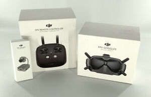 DJI Digital FPV Goggles, Air Unit & Remote Controller Fly More Combo - New!