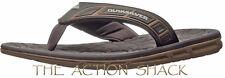 E1286 • Quiksilver Fluid Sandals / Flip-Flops • New Mens 12 Brn / Tan • #26762
