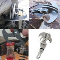 Multifonctions extérieure survie en acier inoxydable Grappin Escalade Griffe