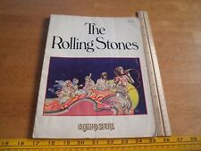 The Rolling Stones 1975 book Rolling Stone 96pgs Straight Arrow pub RARE