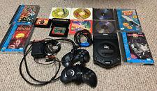 Sega Genesis CDX Bundle - 12 games + 2 controllers 100% Tested! SHINOBI Sonic