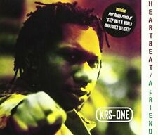 KRS-One Heartbeat/A friend (plus 2 versions of 'Step into a world', .. [Maxi-CD]