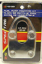 S.B. Chevy Chrome Fuel Pump Mounting Plate Kit 283-327-350-400