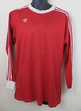 Adidas para hombre Manga larga Camiseta De Fútbol Vintage 80s Jersey Trébol Trikot 7/8 L Grande