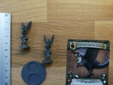 DEVOURERS /APOCALYPSE/MINIATURE+CARD/TIME OF LEGENDS JOAN OF ARC M161