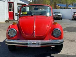 1979 Volkswagen Beetle Cabriolet Fuel Injection