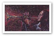 Color of Jazz Gilbert Young African American Art Print 19x30