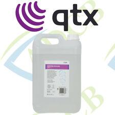 Qtx Light Low Level Fog Smoke Fluid 5 Litre 5L Dj Disco Party Liquid Juice