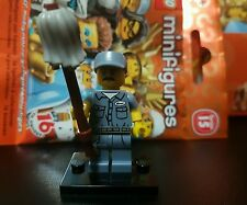 NEW LEGO Minifigures Janitor Series 15 71011 Cleaner Minifigure Mini Figure
