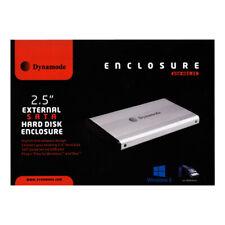 Dynamode 2 5 Inch Sata Hard Disk Enclosure With Usb 2 0 Connection Grey Usb Hd