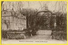 cpa 91 - Environs de Mennecy LISSES VILLABÉ (Essonne) CHÂTEAU de MONTAUGER