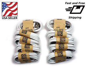 20x Wholesale Lot of Micro USB Cable Charger Cord for Samsung Galaxy S2~S7