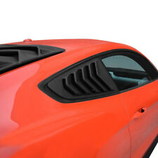 2 X Quarter Side Window Louvers Scoop Paint Cover Rear Vent For Ford Mustang #s