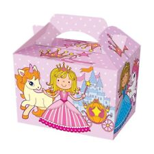 Coloured Party Boxes Children Kids Food Loot Lunch Gift Birthday Box Bags Design