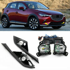 For 2016-2020 Mazda CX-3 Front Bumper LED Daytime Running Light DRL Fog Light