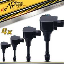 4x Ignition Coils for Nissan Armada 17-20 Infiniti QX56 11-13 QX80 14-19 V8 5.6L