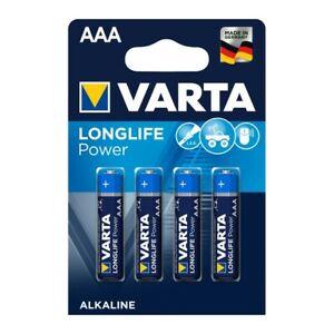 20 x Varta Longlife Power AAA micro Batterien LR03 1,5V Alkali Mangan