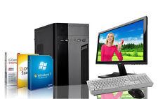 Komplett PC Intel Quad 4x 2.42GHz 4GB 320GB DVD-RW Windows 7 Pro + Monitor