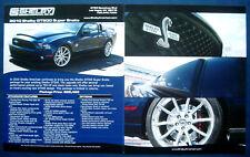 Prospekt brochure Datenblatt 2010 Ford Mustang Shelby GT500 Super Snake (USA)