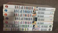 Manga Book Lot - DANCE TILL TOMORROW Vol 1-7 Viz Media Pulp Graphic Novel *READ