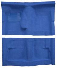 1975 Dodge Coronet 2DR 4spd Bench Seat 818 Ocean Blue / Bright Blue Cutpile